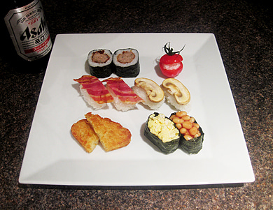 English Breakfast Sushi