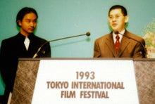 1993TIFF蔡明亮監督右とレスリー・チャン左