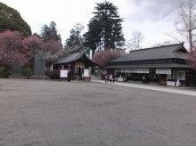 神社の境内。