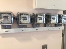 シェアハウス電気メーター