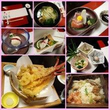 松江のわらくの夕食