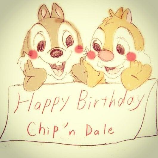 Happy Birthday CHIP'N'DALE