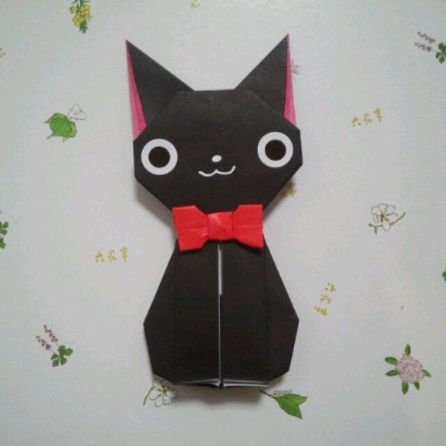 ハート 折り紙:折り紙 黒-ameblo.jp