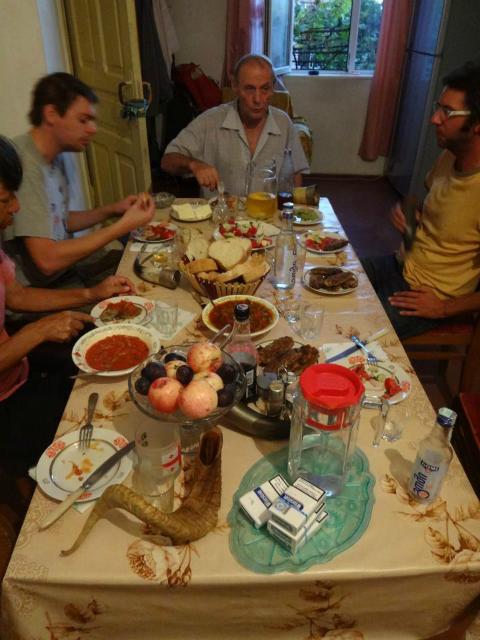グルジアの人間世界遺産、スリコとメディコの家