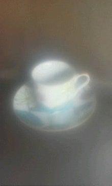 コーヒーカップ睡蓮
