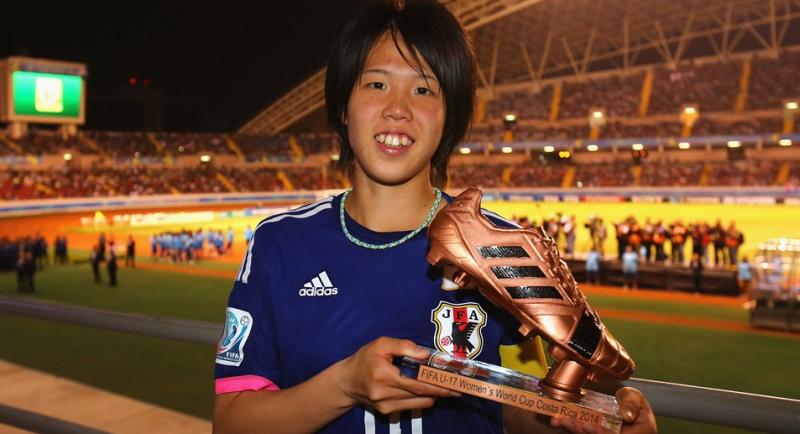 杉田 妃和 ブロンズブーツ リトルなでしこ U-17女子W杯 ワールドカップ 初優勝 世界一