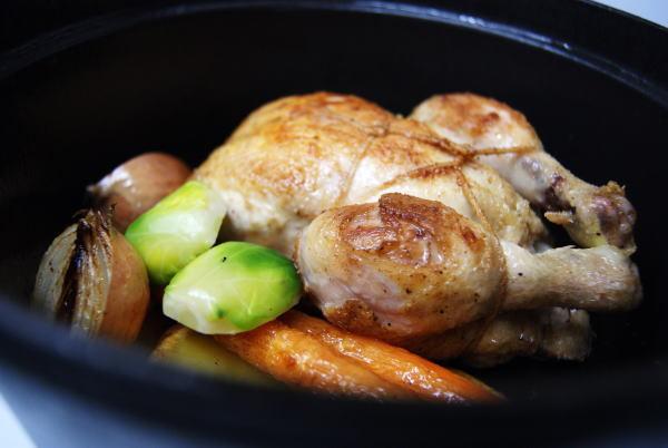 若鶏のココット焼き