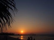 東シナ海の夕日☆