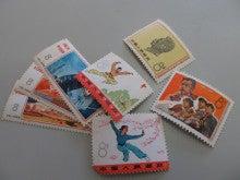 中国切手 バラ
