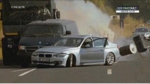 cobra11mania248話  BMW3シリーズ F30  ダッジ・ラムバン  キア・リオ   破壊コメント