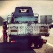 軽トラック、改造開始…