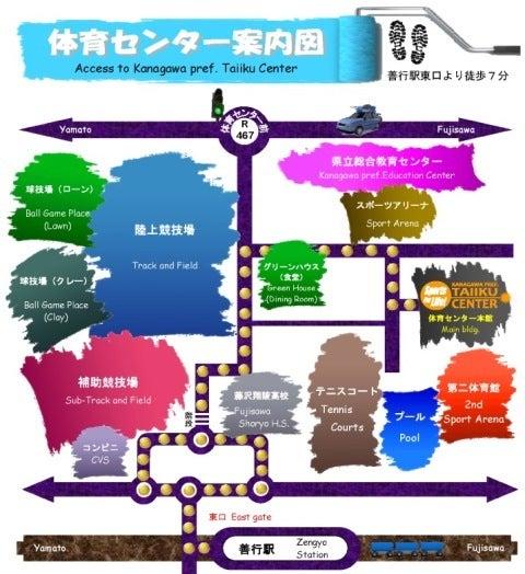 1_体育センター案内図