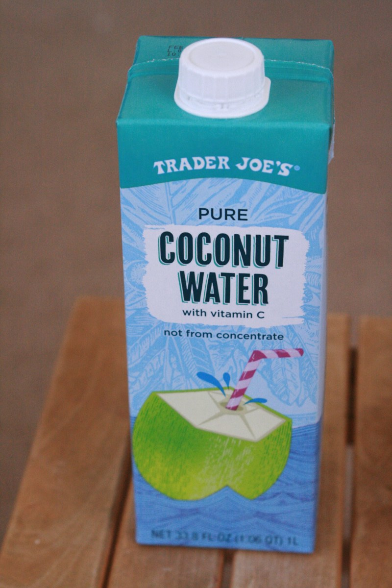 trader joe's coconut water with vitamin c