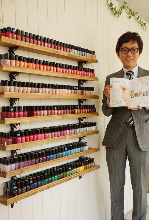 日本一の取り扱い本数へ。マニキュアZOYAが勢揃いです。|自爪とネイルケア専門サロン プリナチュールのブログ