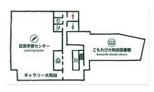 図書館フロア図
