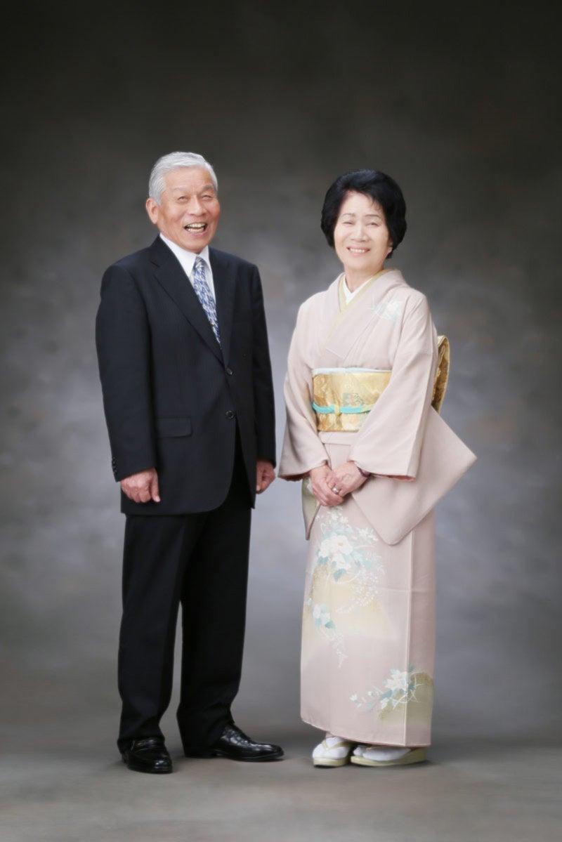 夫婦でツーショット写真1