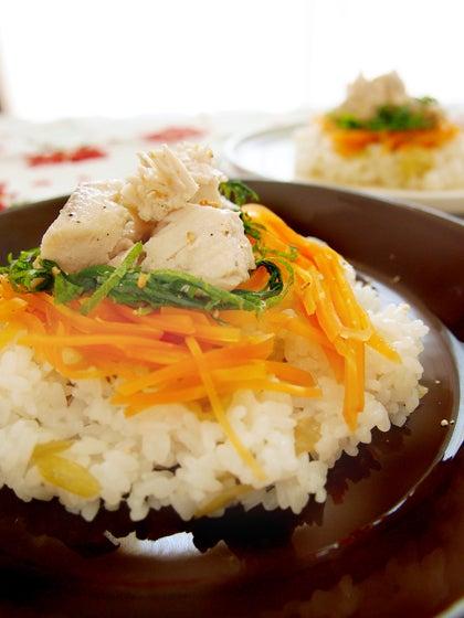 自家製ツナ ちらし寿司