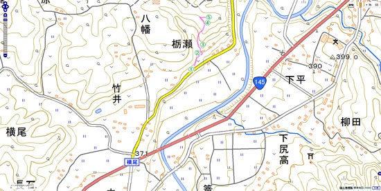 横尾八幡城_map