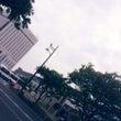 岡山の街で