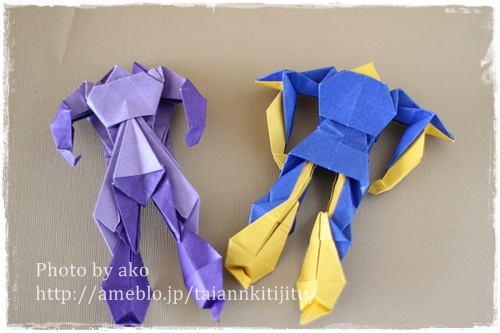 簡単 折り紙 男の子 折り紙 : ameblo.jp