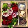 母の日のお花とお菓子…