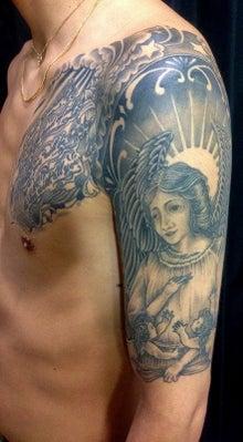 東京 下北沢TattooerKoji 天使 刺青タトゥー 2