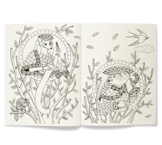 Mihoko najima official blog - Cahier de gribouillages pour adultes qui s ennuient au bureau ...