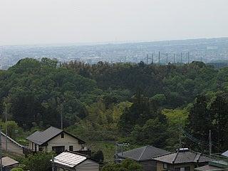 箱根峠からの三島市遠望