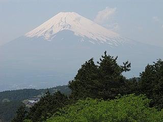 山中城跡から眺める富士山