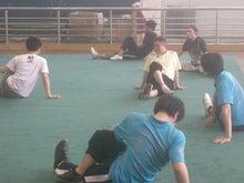 復旦大学武術隊との練習