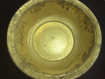 黄銅洗面器2