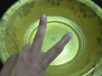 黄銅洗面器3