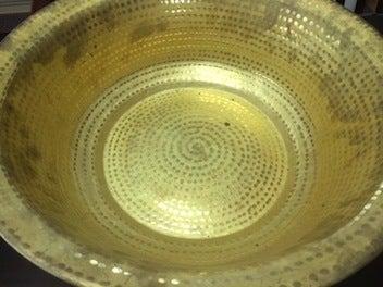 黄銅洗面器1