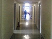 男子寮 廊下