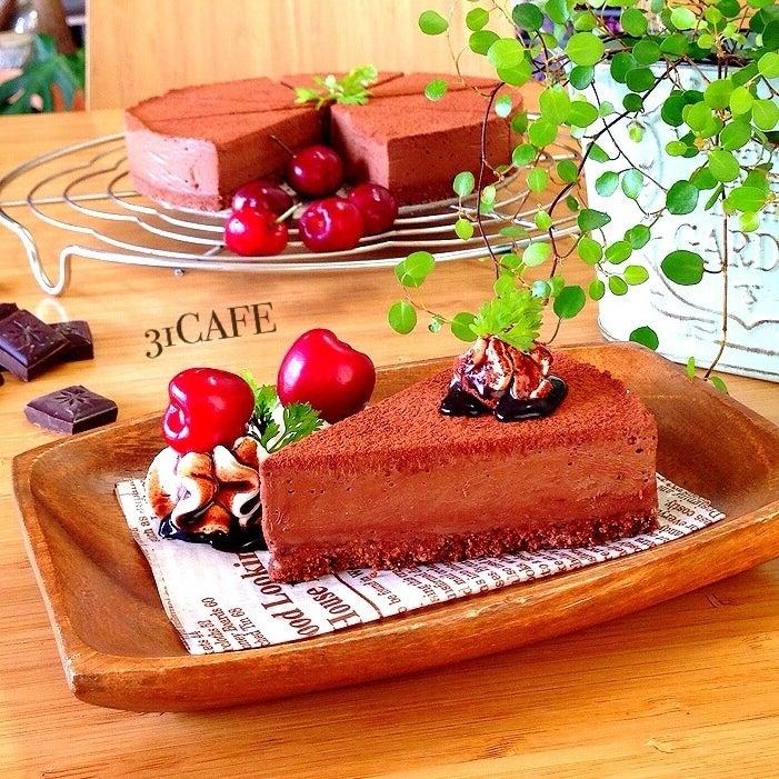 ♡混ぜるだけ♡とろける生チョコレアチーズ♡