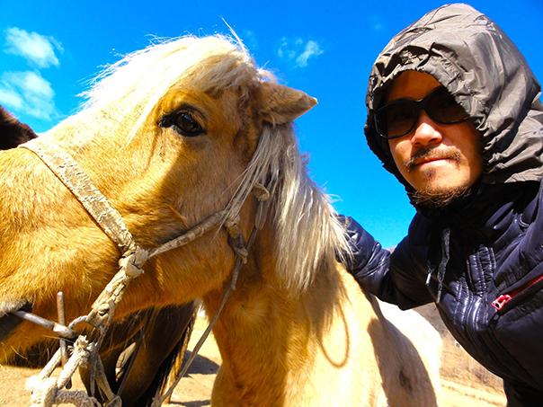 乗らせてもらった馬