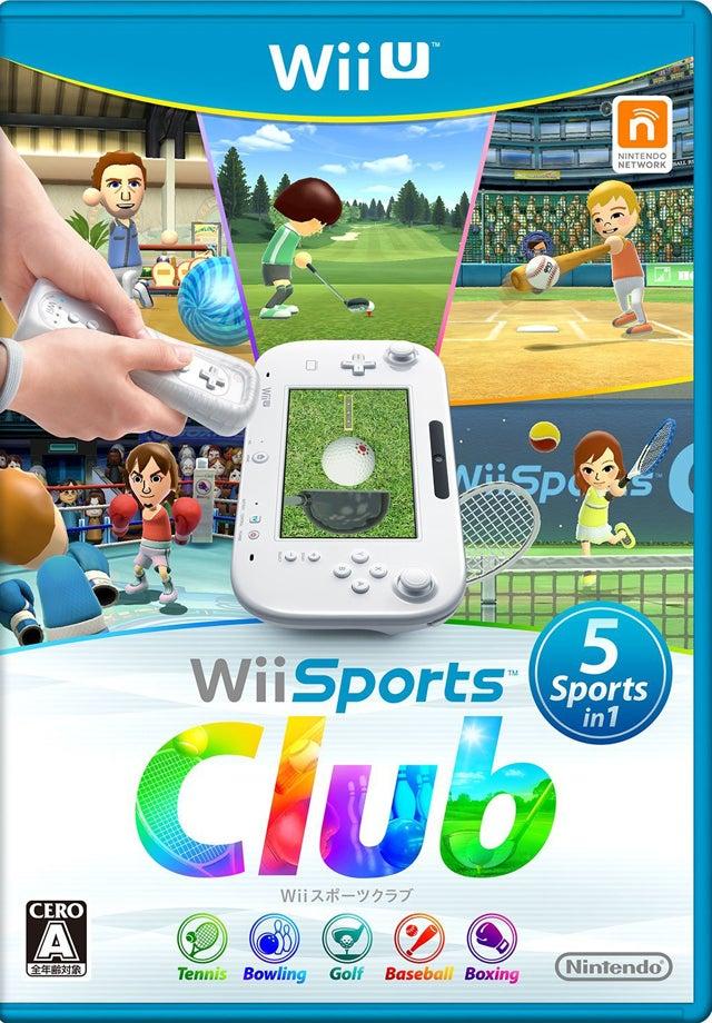 Wii U Wii Sports Club 任天堂 Nintendo