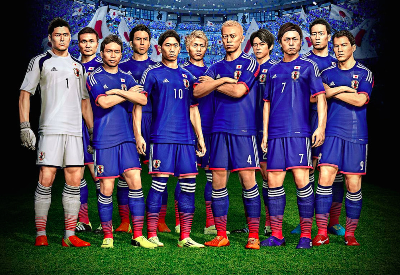 ウイニングイレブン2014 蒼き侍の挑戦 ウイイレ PS3 PSP 3DS 発売