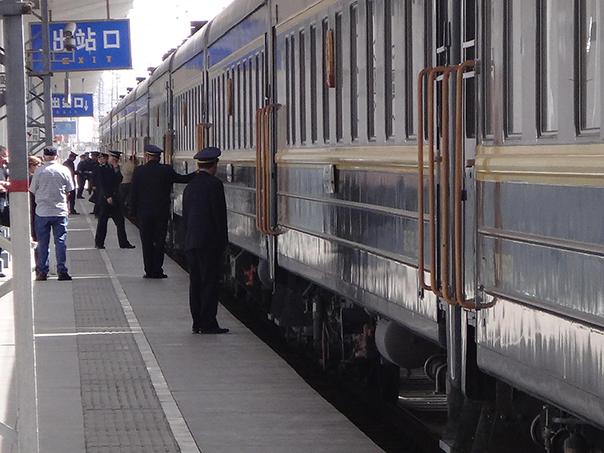 シベリア鉄道 ホーム