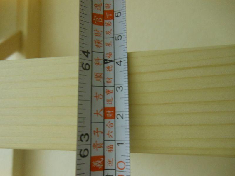 神棚板の吉寸法(床面)