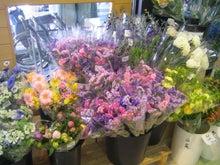 季節の切り花もたくさん
