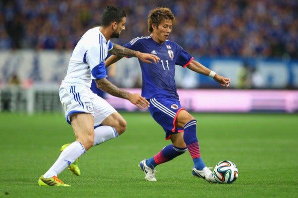 サッカー日本代表とブラジルワールドカップへの準備内田篤人のA代表2点目のゴールでキプロス代表に勝利!日本代表はW杯前、国内最終戦に勝利し出発へ