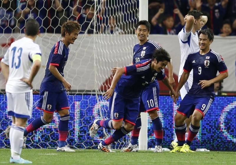 内田篤人 ゴール 復帰 サッカー日本代表 キプロス戦 壮行試合 ブラジルW杯 国内最終