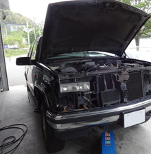 99y タホ AC 修理