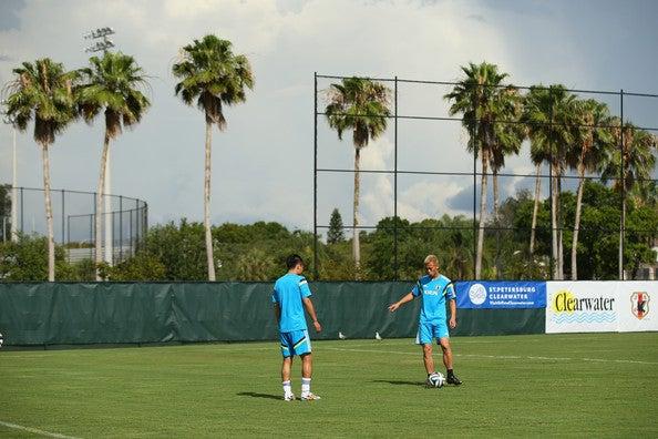 本田圭佑 日本代表 ブラジルワールドカップ W杯 アメリカ フロリダ州タンパ 合宿 練習