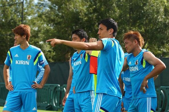 日本代表 ブラジルワールドカップ W杯 アメリカ フロリダ州タンパ 合宿 練習