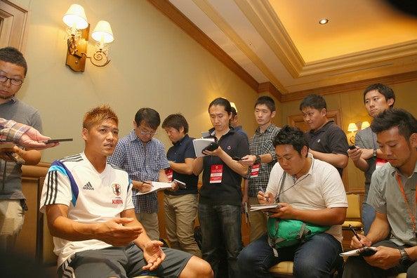 大久保嘉人 日本代表 ブラジルワールドカップ W杯 アメリカ フロリダ州タンパ 合宿 練習