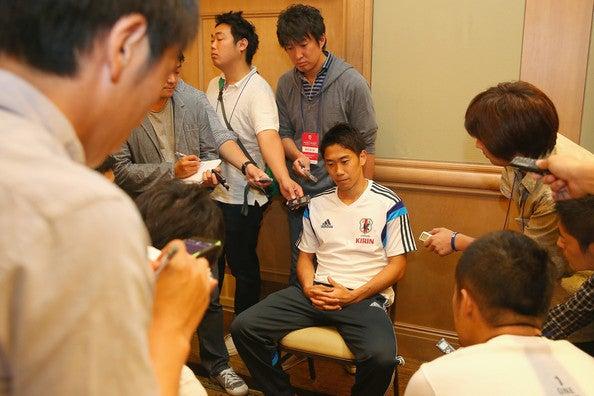 香川真司 日本代表 ブラジルワールドカップ W杯 アメリカ フロリダ州タンパ 合宿 練習