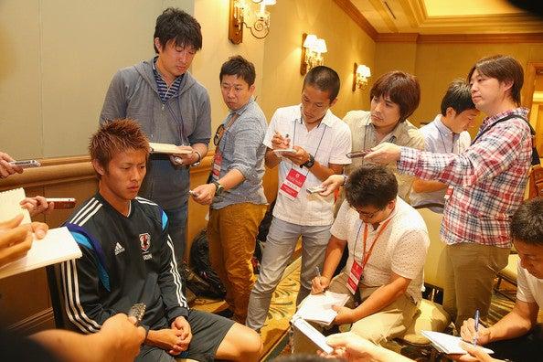 柿谷曜一朗 日本代表 ブラジルワールドカップ W杯 アメリカ フロリダ州タンパ 合宿 練習