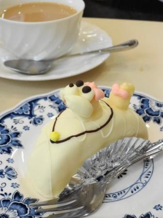 可愛いプードルケーキ